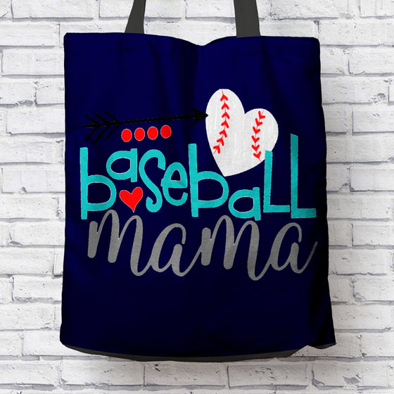 Baseball Mama Tote Bag