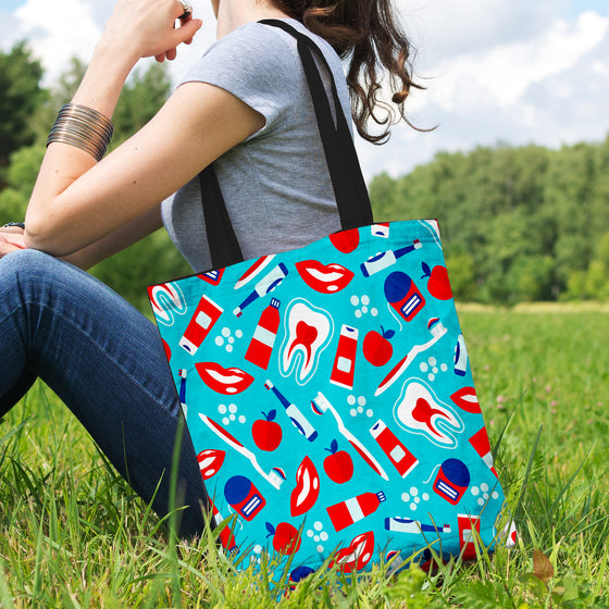 Dental Pattern Tote Bag