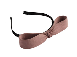 Deep Mauve Silkberry Headband