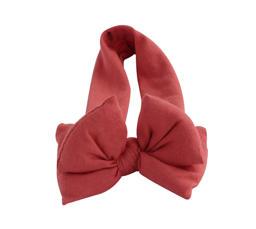 Coral Butterfly Bow