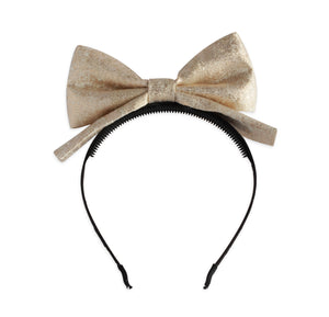 Rose Gold Dolly Bow Headband