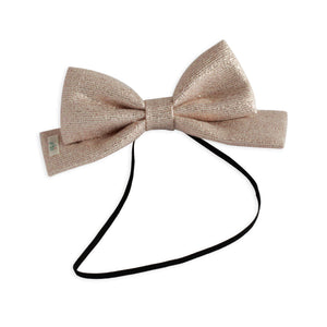 Metallic Pink Dolly Bow