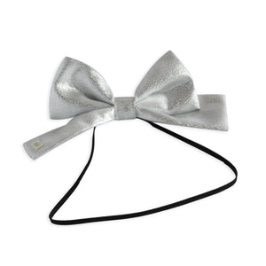 Silver Dolly Bow