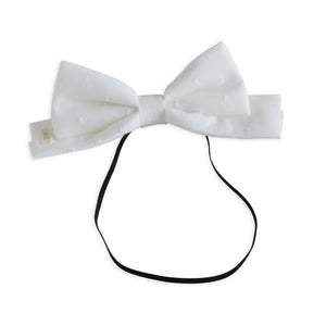 Swiss Dott Dolly Bow