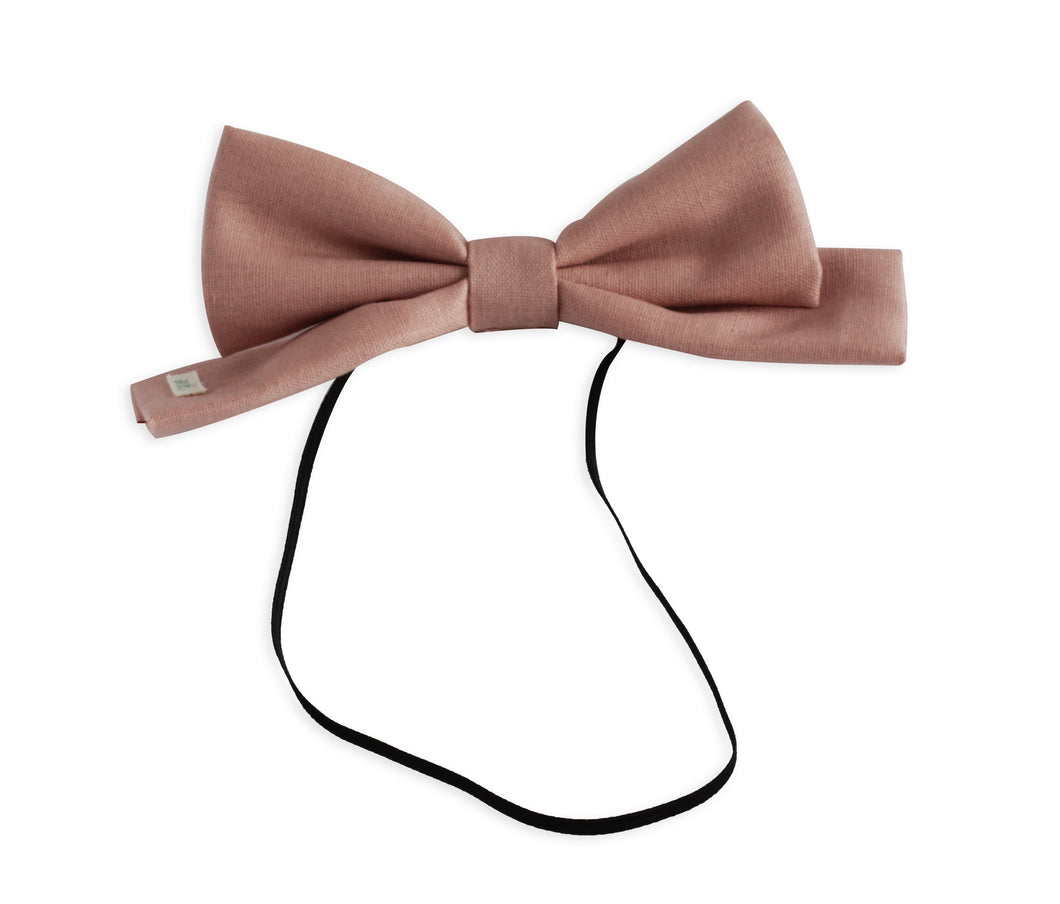 Matte Dusty Rose Dolly Bow