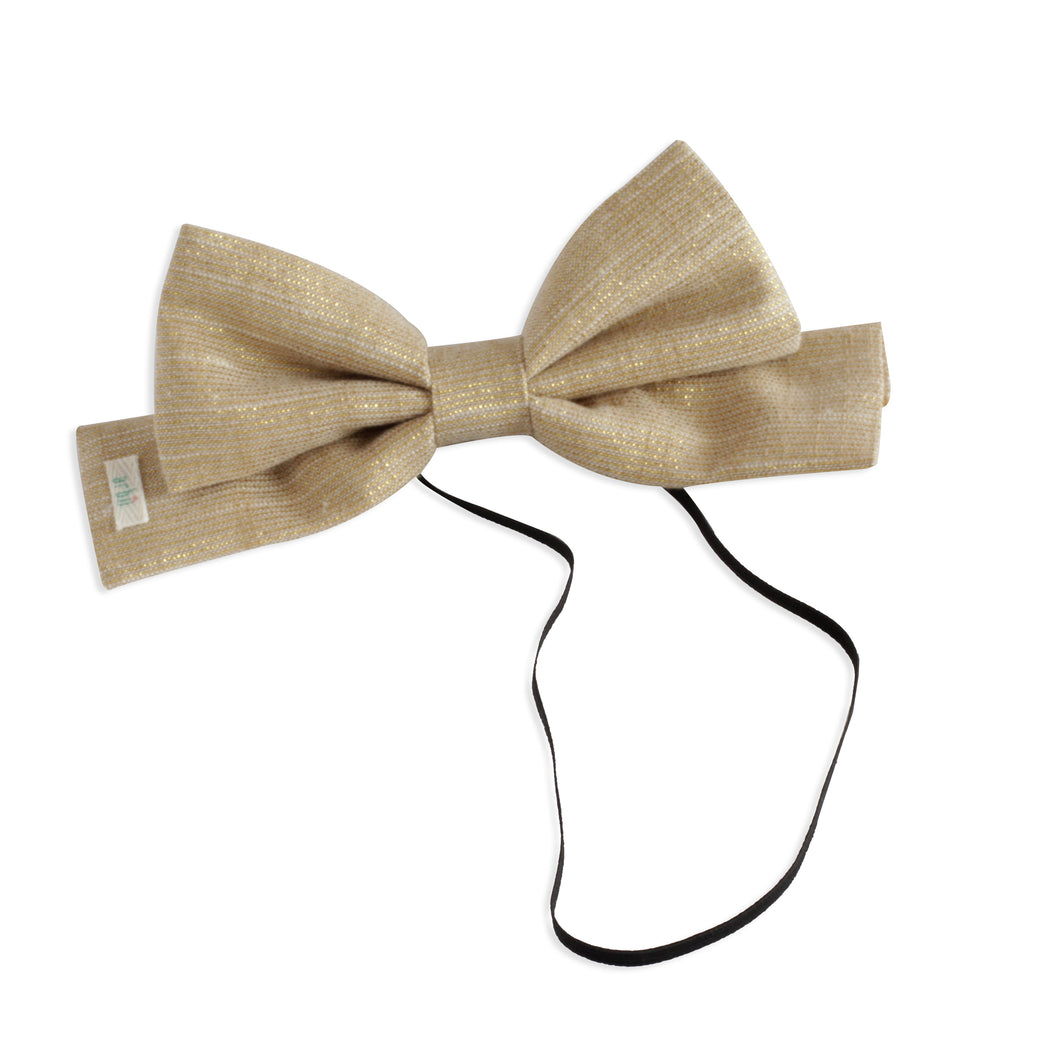 Golden Threads Dolly Bow