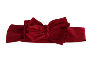 Red Triolet Bow