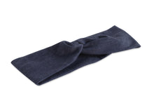 Dark Denim Twisted Turban