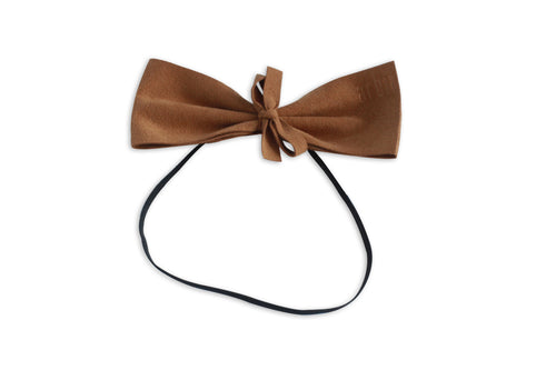 Saddle Suede Demii Bow