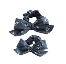 Graphite Arbii Signature Scrunchie