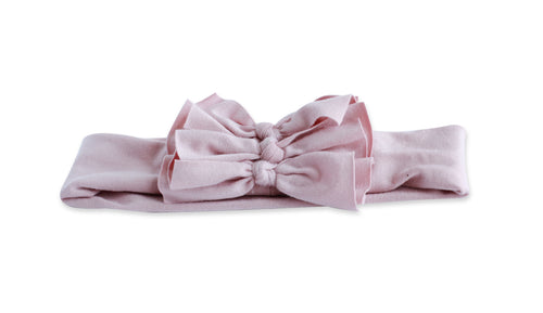 Blush Triolet Bow