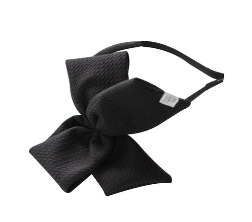 Black Honeycomb Scuba Side Bow