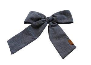 Chambray Denim Oversized Clip