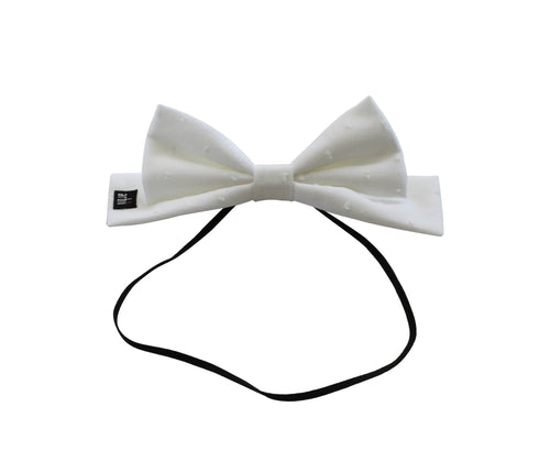 White Dott Dolly Bow Baby Band