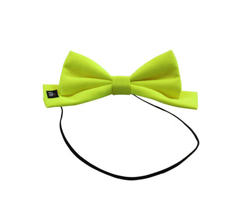 Citrus Neon Dolly Bow Baby Band