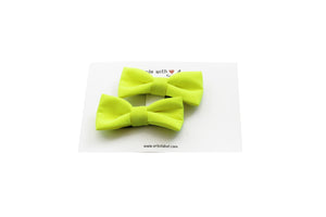 Citrus Neon Piggy Clip Set