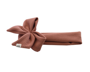 Mauve Honeycomb Scuba Side Bow