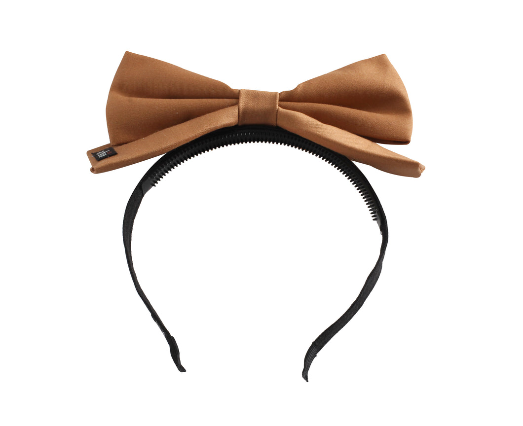 Sweet Honey Dolly Bow Headband