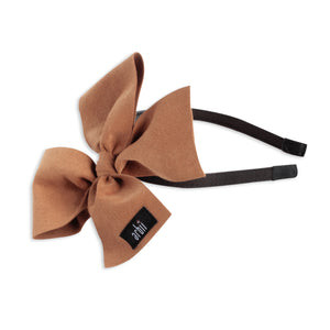 Apricot Suede Celebration Bow