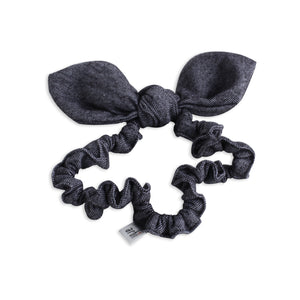 Graphite Tweed Bunny Ears Baby Band