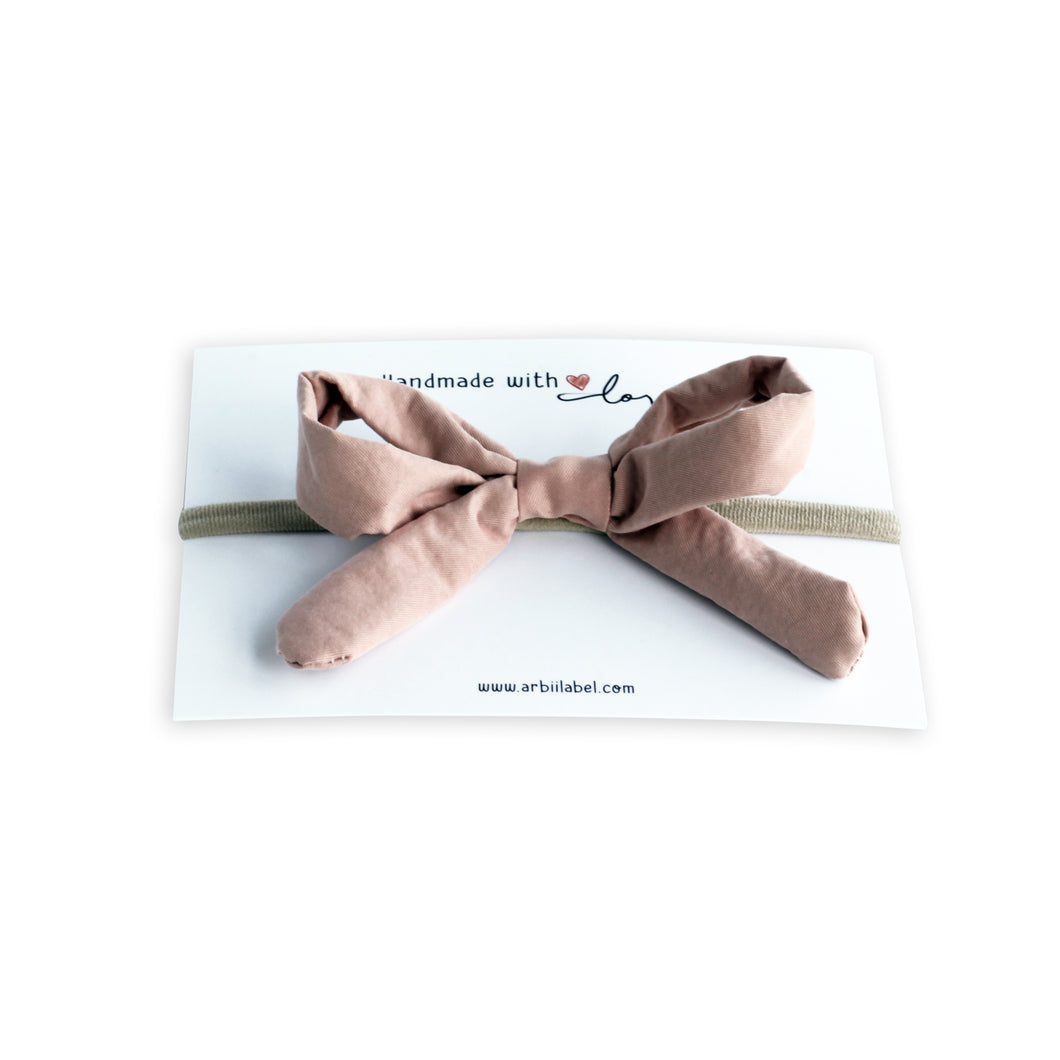 Brushed Pink Gift Bow