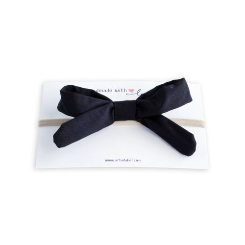 Black Silk Gift Bow