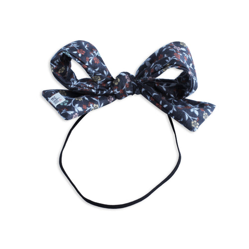 Winter Floral Party Bow