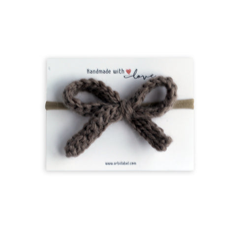 Coffee Knit Crochet Baby Band