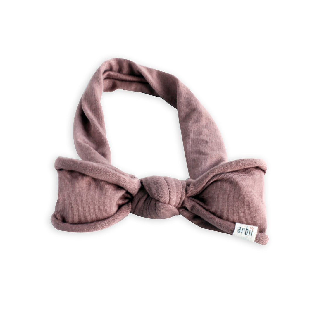 Mauve Floppy Bow
