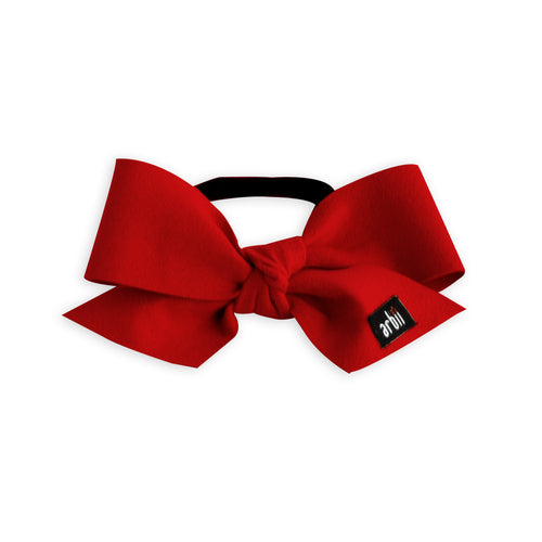 Red Suede Celebration Baby Band