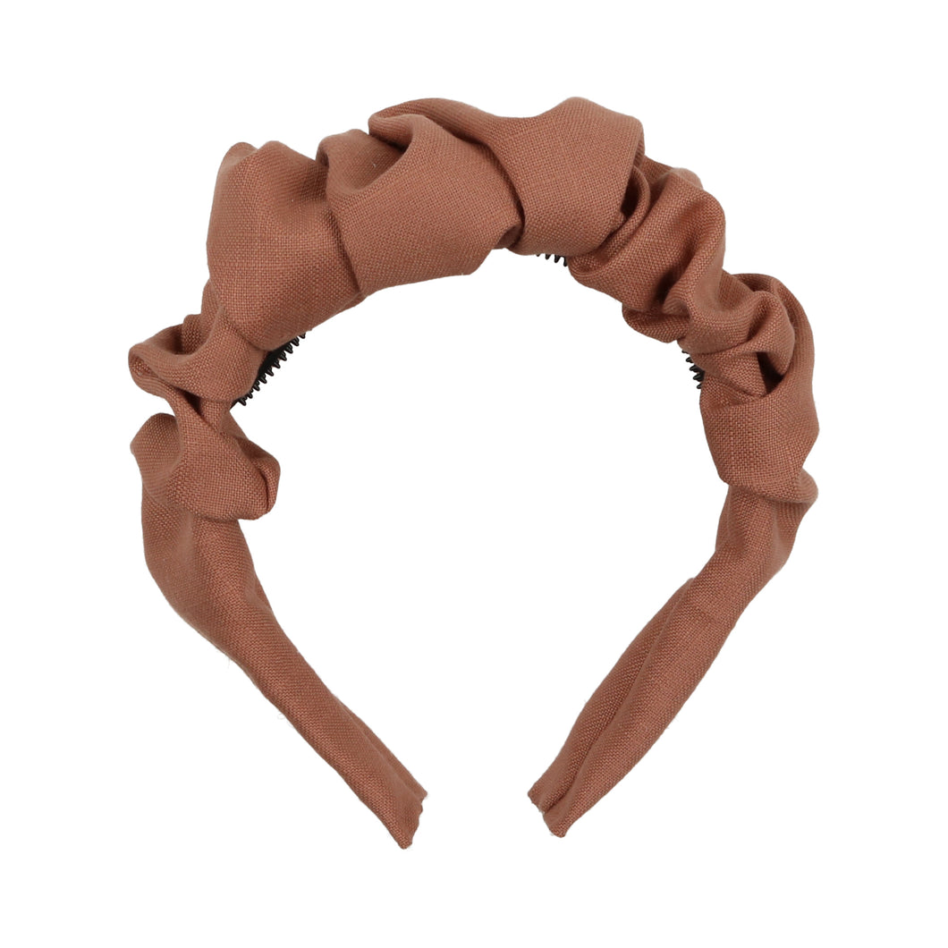 Clay Scrunched Headband