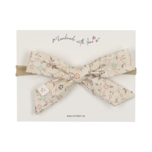 Signature Floral Emily Summer Bow