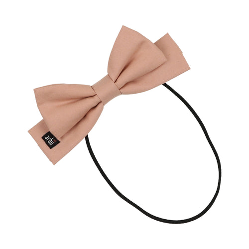 Dusty Pink Dolly Bow