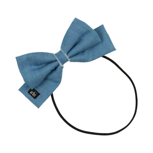 Denim Dolly Bow