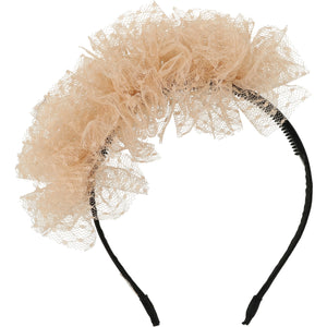 Nude French Blossom Headband