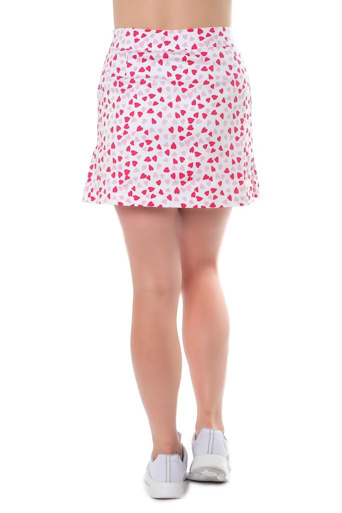 "Cotton blend skort back view ""Cinderella Story"" by Haute Shot Golf"