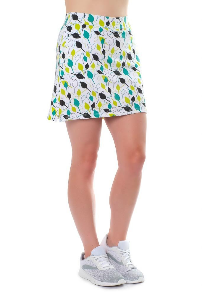 "Skort - ""Pinseeker"" left side view - Haute Shot Golf"