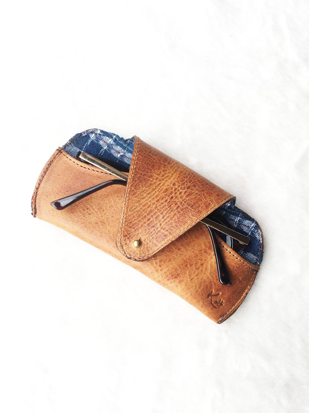 Sunglass Leather Case