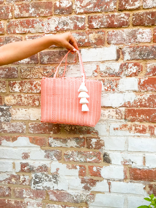 Mini Market Bag - Pink