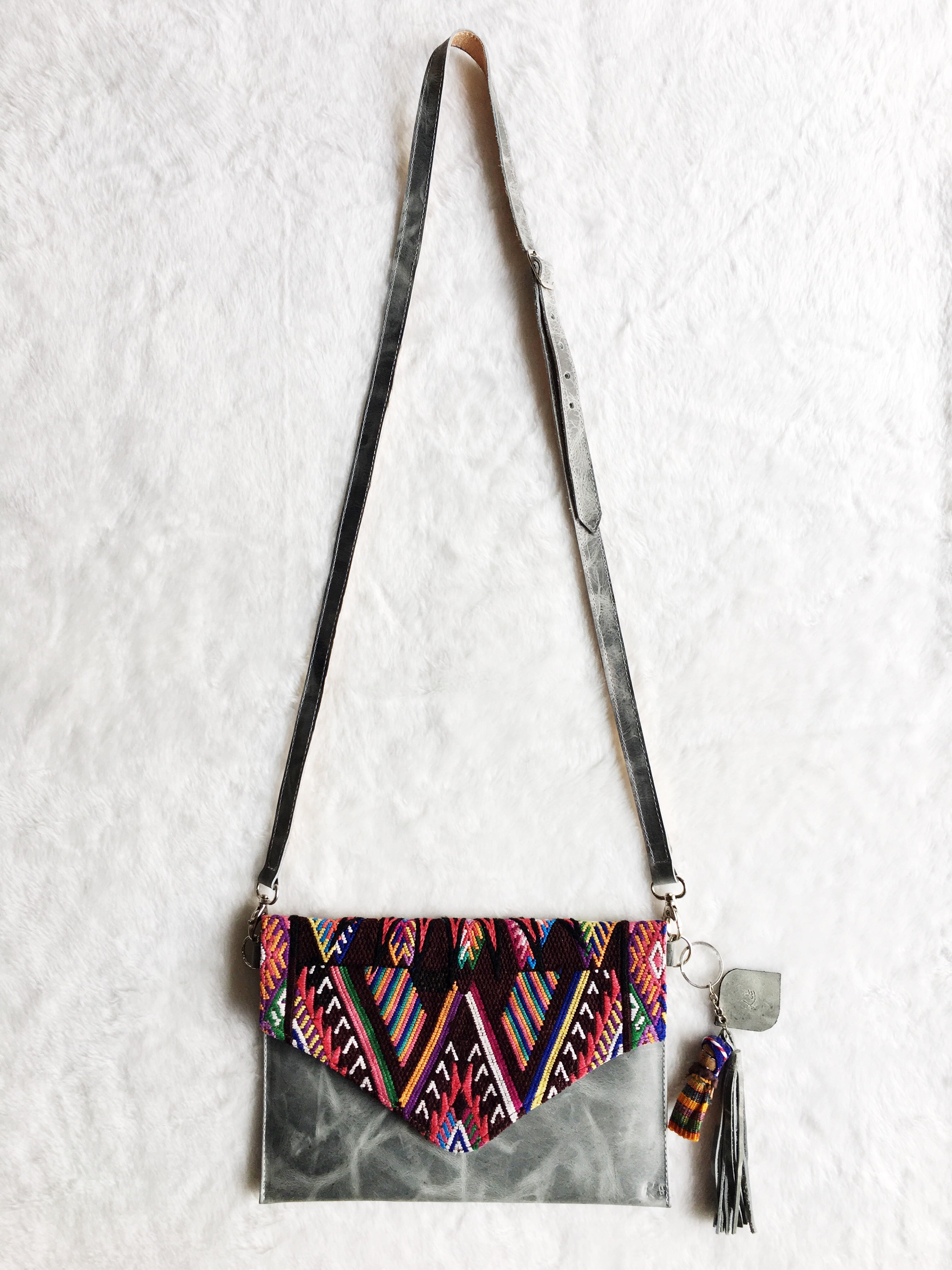 Cross Body Chi Chi Grey Bag