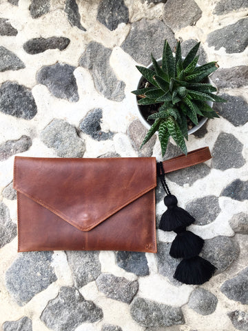 Square Crossbody - Black Textile