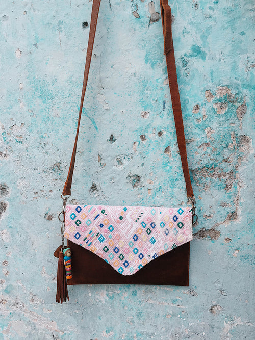 Cross Body Nahuala Brown Bag