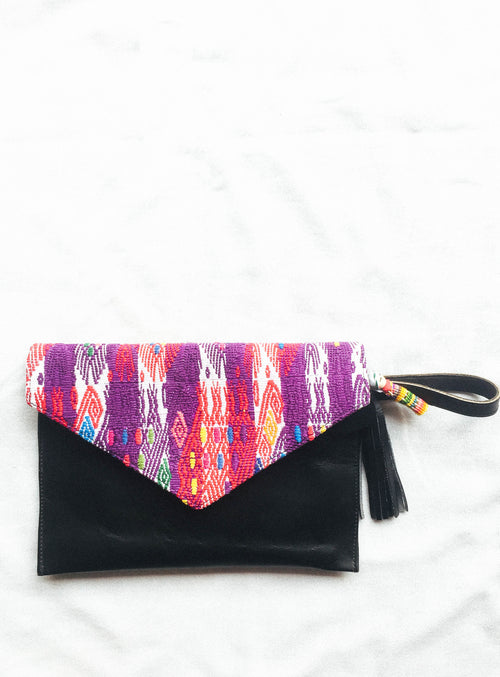 San Juan Ceremonial Huipil Clutch