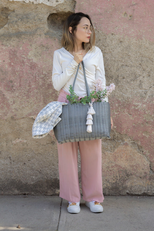 Grande Market Bag - Grey