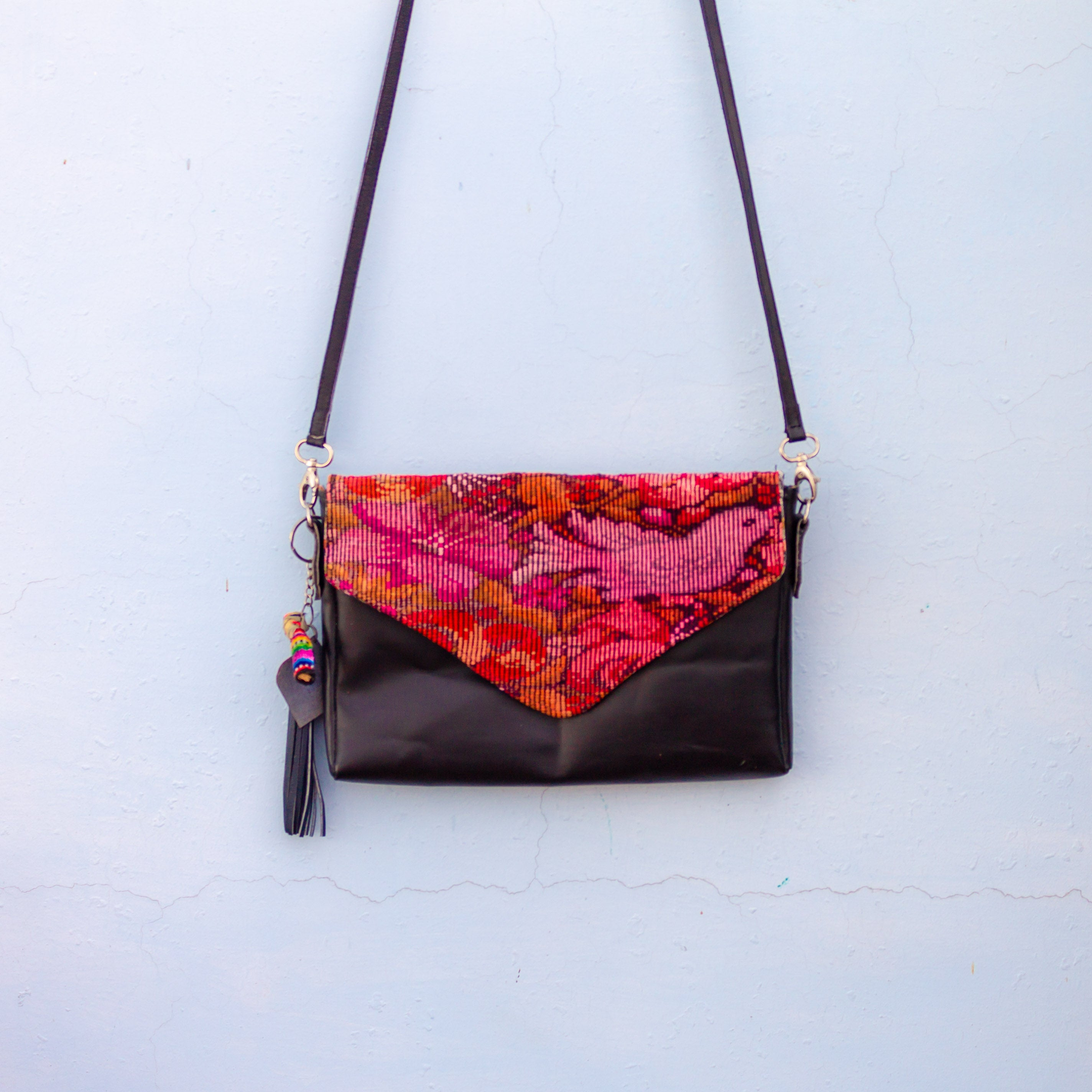 Black Crossbody - Floral ChiChi