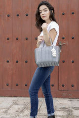 Mini Market Bag - Grey