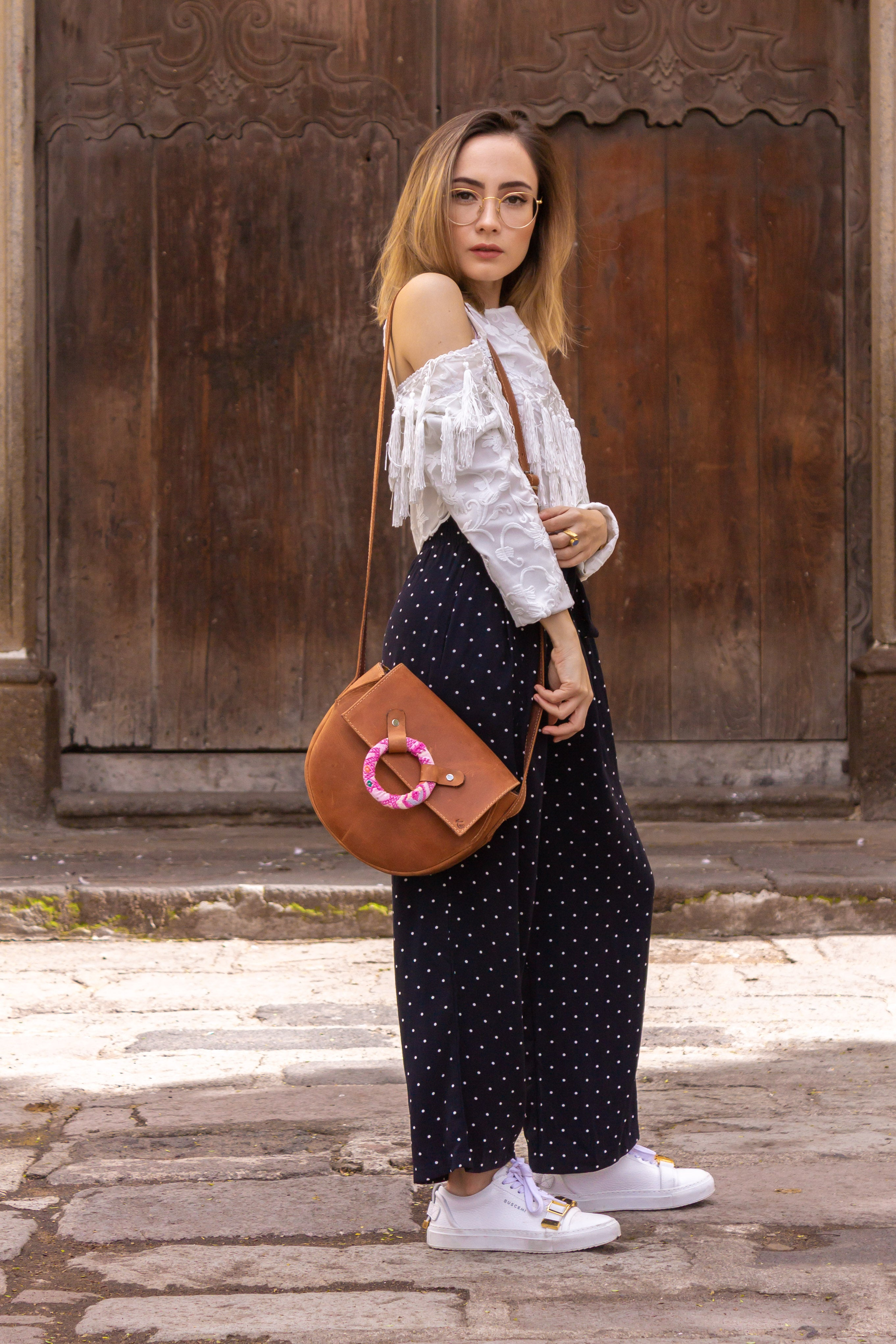 Ring Crossbody - Brown