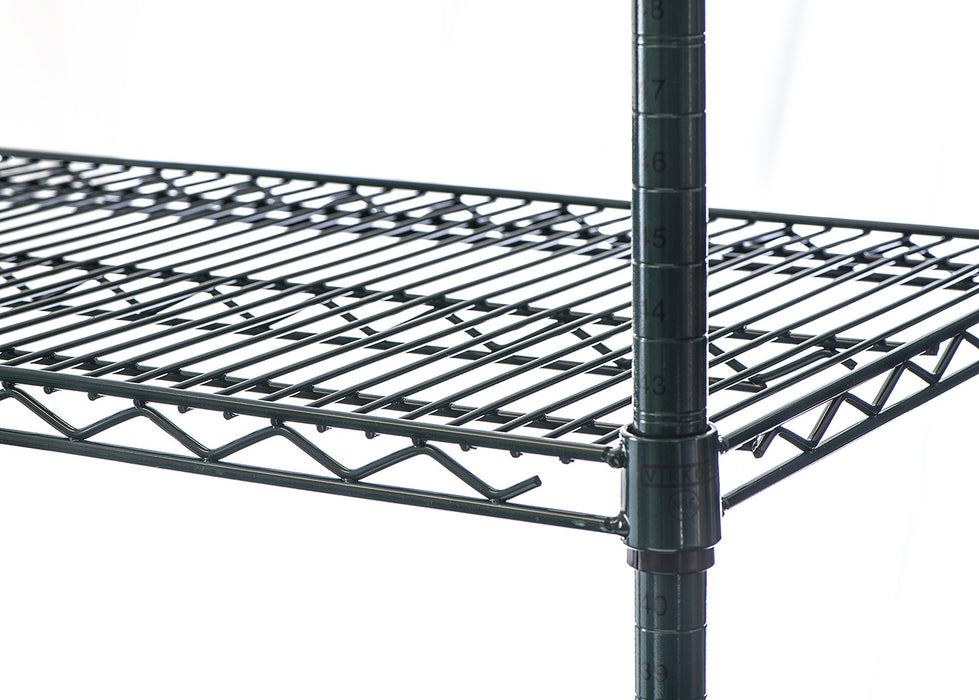 Epoxy coated wire shelving POSTS - 6 sizes