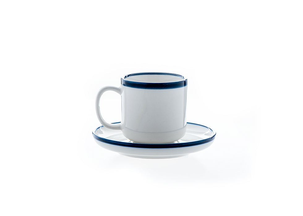 Vikkor Milford Espresso Cup with Saucer