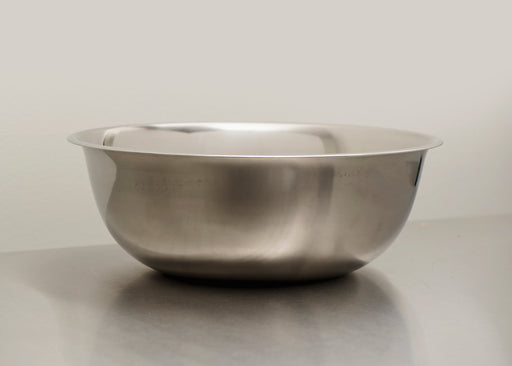 Standard Weight Stainless Steel Mixing Bowl - 8QT